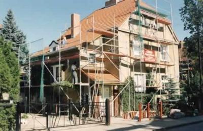 Sanierung eines Wohnhauses